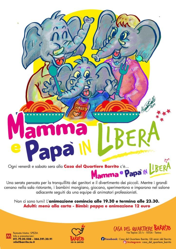 Barrito - Mamma e Papà in Libera