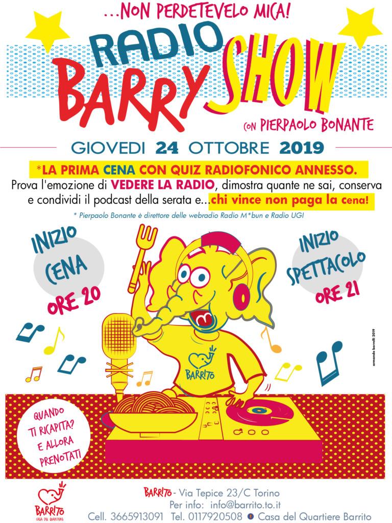 Barrito - Radio Barry Show